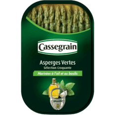 Grüner Spargel mit Knoblauch & Basilikum